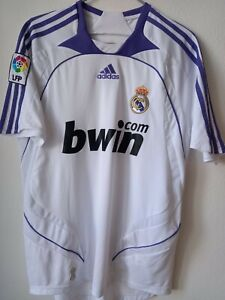 REAL MADRID 2007/2008 HOME FOOTBALL SHIRT JERSEY SPAIN