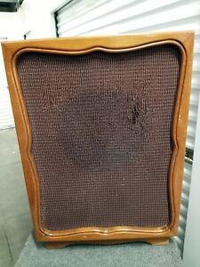 Acousti-Craft corner horn cabinet, w/ Stephens  Tru-Sonic 122 AX coaxial speaker