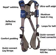 Choose Your Size Dbi Sala Exofit Nex 3m Vest Style Safety Harness Small Xxl