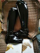 Stunning Patent Celeris Riding Boots