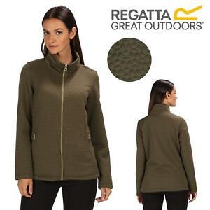 Regatta Subira Full Zip Heavyweight Quilted Fleece Jacket RWA376 Grape Leaf