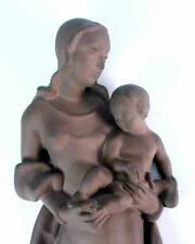 Mutter mit Kind   Karlsruhe - Karlsruher Majolika  53cm