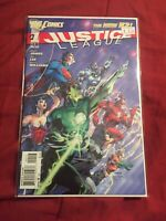 Justice League #1 3rd Printing Jim Lee Variant Cover New 52 [DC, 2011]
