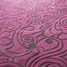 Velvet Floral Craft Fabric Remnants