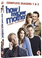 HOW I MET YOUR MOTHER - SEASONS 1 TO 2 - DVD - REGION 2 UK