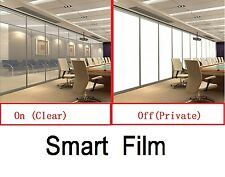 PDLC Smart film EGlass switchable film Glass electrochromic+Power Inverter kit