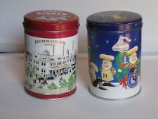 Hershey Candy Tins-Hometown and Holiday Classics