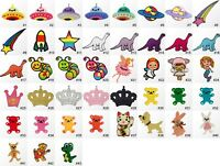 #1219R Small OuterSpace Cartoon Animal Children Kids Sew Iron On Patch Applique