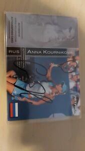 ANNA KOURNIKOVA 2003 Netpro International AUTO Autograph #d 276/500