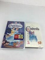 THE MAKING OF WALT DISNEY'S MASTERPIECE CINDERELLA VHS NEW
