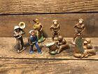 vintage lot toy soldiers lead metal plastic horn gun japanese antique Sailor Old