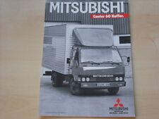 53974) Mitsubishi Canter 60 Kofer Prospekt 12/1986