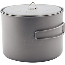 TOAKS Titanium 1600ml Pot - POT-1600 - Outdoor Camping Cup Bowl