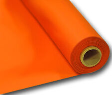Orange Plastic Banquet Table Roll Cover - 1m X 30m