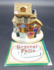 Crystal Falls Village Collectibles 1994 Village Restaraunt Victorian Christmas