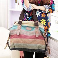 New Fashion Women Handbag Shoulder Bag Messenger Large Tote Canvas Ladies Purse