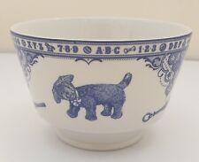 Spode Blue & White Edwardian Childhood Ceramic Sugar Bowl (11cm diameter)