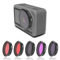 For DJI OSMO ACTION Camera Lens Filters CPL ND8 ND16 ND32 Red Pink Night
