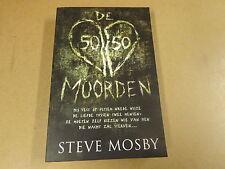 BOEK / STEVE MOSBY - DE 50/50 MOORDEN