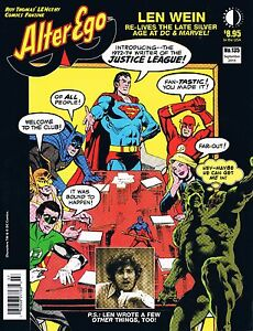 Alter Ego #135 Sept 2015 TwoMorrows Len Wein Re-Lives Silver Age at DC & Marvel