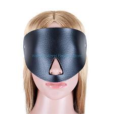 Roleplay Sexy Eye Mask Half Face Mask With Nose Breathing Hole Blind Fetish Toys