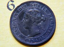 1901  Canada, Canadian Large Cent Coin , Canadian One Cent