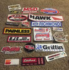 Racing Decals Stickers Hot Rod Drag Race NHRA Nascar Lot Of 20 MSD Edelbrock RCI