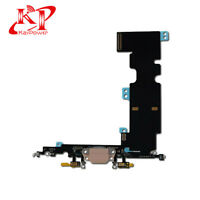New OEM Lightning Charging Port Mic Flex Cable Replacement iPhone 8 Plus Gold
