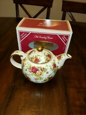 Tall Pot Tea Coffee Royal Albert Old Country Roses Special Edition