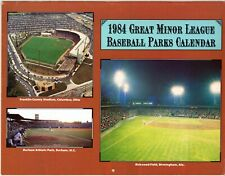 1984 Great Minor League Baseball Parks Calendar (Baseball America)