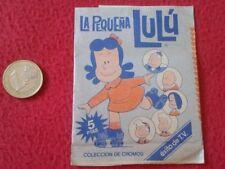 ESCASO SOBRE DE CROMOS SIN ABRIR LA PEQUEÑA LULU LITTLE EDICIONES ESTE 1984 TVE