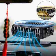 Upgrade 2in1 12V 200W Portable Car Heating Cooling Fan Heater Defroster Demister