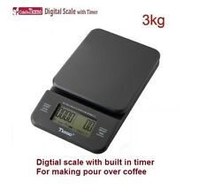 TIAMO Coffee Drip digital Scale with built in Timer-the best friend of Pour over