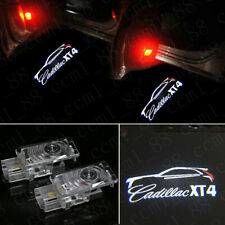 NEW 2x LED EMBLEM DOOR PROJECTOR GHOST SHADOW PUDDLE LOGO LIGHT For Cadillac XT4