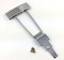 Kluson Chrome Finish Vintage Deco Trapeze Tailpiece for Archtop Guitar KLTP-C