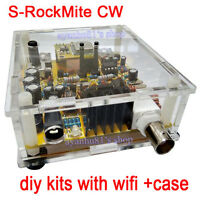 S-Rock Mite CW Transceiver Shortwave Radio Telegraph 7.023M With Wifi + Case Kit