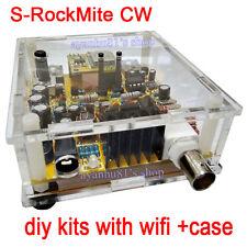 S-Rock Mite CW Transceiver Shortwave Radio Telegraph 7.023M With Wifi + Case Kit