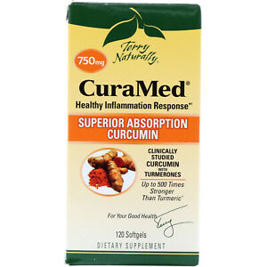 Terry Naturally, CuraMed, 750 mg, 120 Softgels - EuroPharma