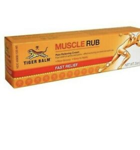 Tiger Balm Muscle Rub Topical Analgesic Cream - 2 x 30g ( 60g)