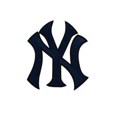 MLB New York Yankees Applique Iron On Sew On Patch Clothing Embroidered Flower