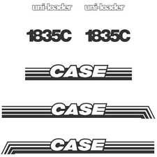CASE 1835C Decals Stickers Repro kit Set