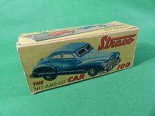 1950's Gama Export Straco  100 Uhrwerk Auto aus Blech / Tinplate US Zone - boxed