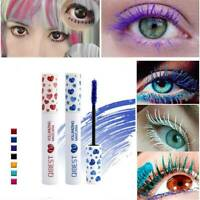 Qibest Fast Dry Mascara Eyelash Waterproof Extension Volume Long Lasting Make Up