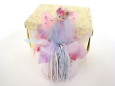 Popular Creations Pink Fairy Jewelry Box Porcelain Half Doll DI4007