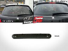 Black Lens RED LED Rear 3rd Third Brake Light lamp For Peugeot 207 5D Hatchback