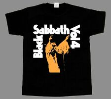 black sabbath vol 4 ozzy osbourne  NEW BLACK SHORT/LONG SLEEVE T-SHIRT