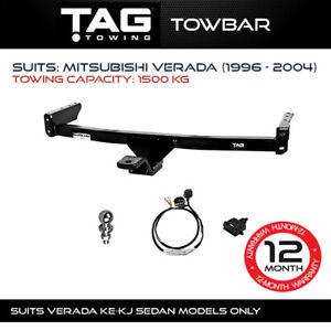 TAG Towbar Fits Mitsubishi Verada 1996 - 2004 Towing Capacity 1500Kg 4x4 4WD