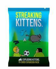 Exploding Kittens Streaking Kittens Second Expansion Card Game
