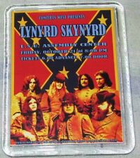 LYNYRD SKYNYRD POSTER LARGE ACRYLIC FRIDGE MAGNET THE SHOW THAT NEVER HAPPENED