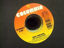 """RICK TREVINO Just Enough Rope/A Quarter At A Time 7"""" 45 country Columbia sleeve"""